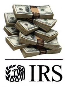 internal revenue service cash
